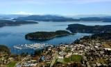 Friday Harbor, Brown Island, San Juan Island, Mt Baker, Washington