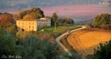 Sunrise on Monteriggioni Italy
