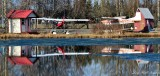 Floatplane on Lake Hood Seaplane Base Anchorage Alaska