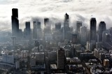 Fog is back over Seattle