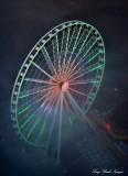 Great Wheel in Seahawks Colors, Seattle
