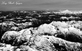 Glacier Peak, Mount Shuksan, Mount Baker, Twin Sisters, Three Fingers, Cascade Mountains, Washington