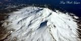 Mount Shasta from 25000 feet