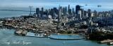 San Francisco, Fisherman Wharft, Trans America Building, Bay Bridge, California