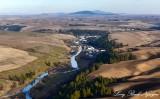 Colfax, Palouse River, Colfax Trail, Palouse Hills, Washington State