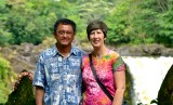 The Nguyens at Rainbow Falls Hilo Hawaii