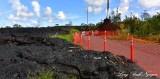 Pahoa Lava Flow 2014-2015, Pahoa, Hawaii