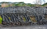 Pahoa Lava Flow at Landfill, 2014-2015 Flow, Pahoa Hawaii