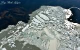 Harlequin Lake, Icebergs, Yakutat Glacier, Yakutat, Alaska