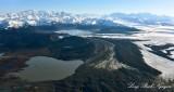 Starodubtsov Lake, Berg Lake, Steller Glacier, Carbon Mountain, Chugach Mt ,Alaska