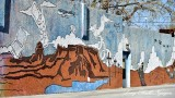 Mural on 1st Ave, Scottsbluff, Nebraska