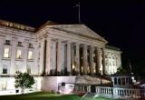 Treasury Building Washington Monument Washington DC