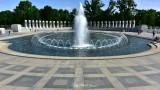 Fountain and Atlantic Arch, World War 2 Memorial, Washington DC
