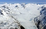 Grewingk Glacier, Kenai Mountains, Kenai Fjords National Monument,  Alaska