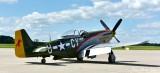 P-51 Mustang Gunfighter Appleton Airport Wisconsin