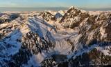 Overcoat Peak, Iceberg Lake, Chimney Rock, Lemah Mtn, Cascade Range, WA