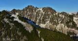 Kaleetan Peak, Melakwa Pass, Chair Peak, Melakwa Lake, Cascade Mountain, WA