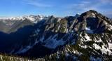 Mt Snoqualmie, Lemah Mt, Chimney Peak, Overcoat Peak, Middle Fork Snoq River, Burntboot Creek