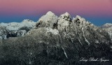 Frozen Mountain at sunset, Cascade Mountains Washington 268