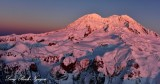 Final Sunset on New Year Eve 2014, Mount Rainier National Park, Washington 7