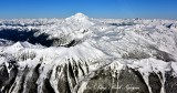 Glacier Peak, Disappointment Peak, Suiattle Glacier, Honeyconti Glacier, White Chuck Glacier, White River Glacier, Washington 04