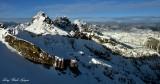 Chikamin Peak and Ridge, Lemah Mountain, Chimney Peak, Overcoat Peak, Washington Cascade Mountains 226