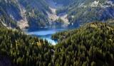 Lake Caroline on Preacher Mountain Washington Cascade Mountains 427