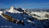 Chikamin Peak and Ridge, Lemah Mountain, Chimney Peak, Overcoat Peak, Washington Cascade Mountains 226a
