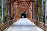 Old Bridge in Santa Rosa area California 136
