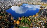 Autumn around Green Lake Seattle Washington 507