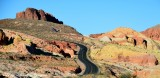 Mouses Tank Road Painted Landscape  in Valley of Fire State Park Nevada 845