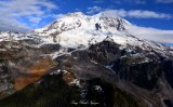 Autumn on Mount Rainier National Park Washington