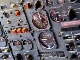 Retired American Airlines Boeing 727 Pressurization Control Clay Lacy Aviation Seattle 256