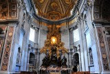 The Tribune Altar of the Chair of St. Peter, The Vatican City, Rome Italy