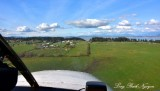 Landing on Camano Island Airport 13W in Cessna 180 Camano Island Washington 457