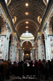 Maderno's nave, St Peters Basilica The Vatican Rome Italy 284