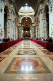St. Peter's Baldachin, Maderno's nave, St Peter's Basilica, The Vatican, Rome Italy 28