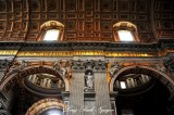 Madernos nave, Small Dome, St Peter's Basilica, The Vatican, Rome Italy 299