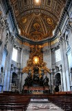 Cathedra Petri and Chapel of the Blessed Sacrament, St Peter's Basilica, The Vatican, Rome 337