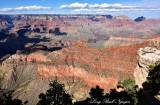 Grand Canyon National Park from Mather Point at Visitor Center Arizona 534
