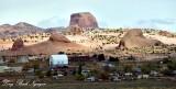 Kayenta with Segeke Butte Navajo Nation Arizona 407
