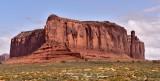 Sentinel Mesa Monument Valley Navajo Tribal Park Utah-Arizona 594a