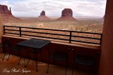 Room 119 view of The Mittens and Merrick Butte, Monument Valley Tribal Park Arizona 621