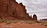 Rain God Mesa on Monument Valley Scenic Drive Navajo Tribal Park Arizona 743