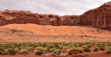 Thunderbird Mesa Monument Valley Scenic Drive Navajo Tribal Park Arizona 789