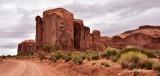 Spearhead Mesa Monument Valley Navajo Tribal Park Arizona 836