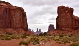 North Window Overlook to Monument Valley Navajo Tribal Park Arizona 891