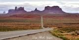 US Route 163 toward Monument Valley Navajo Tribal Park Navajo Nation Utah-Arizona 1102