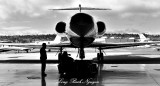 Towing Gulfstream Clay Lacy Aviation Seattle Washington 114