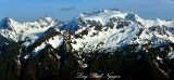 Mount Olympus, Blue Glacier, White Glacier, Olympic National Park, Washington 208